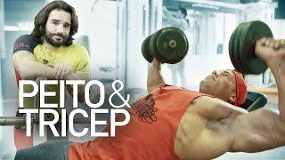 Gambar cover Plano Treino Hipertrofia - Dia 1 Peito e Tricep! /Bodybuilding Plan - Day 1 Chest and Triceps