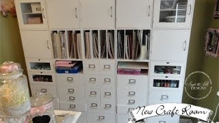 My New Craft Room!!! Featuring Jetmax Craft Storage!