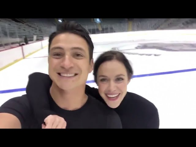 Posted to Tessa and Scott's social media accounts on September 17th 2019. They announced that Rock The Rink will be their final tour together.