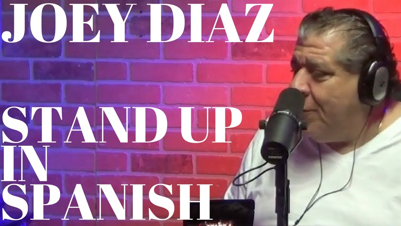 Joey Diaz - Performing Stand Up Comedy in Spanish