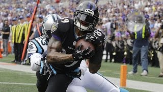 Steve Smith gets revenge versus the Panthers - Inside the NFL highlight