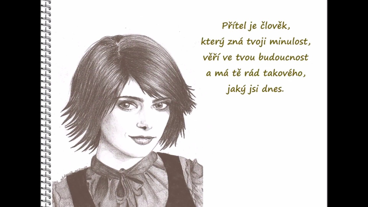 Kresby Tuzkou S Citaty Pencil Dravings With Quotes Youtube