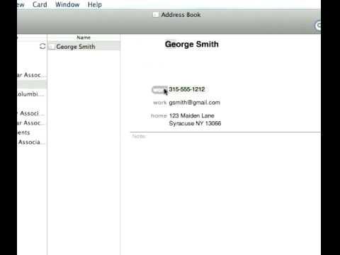 Mac Address Book  Smart Groups, Website Tracking, & Sending Bulk Email