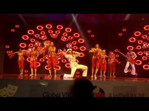 Performance by Bollywood Merchants at Global Village, Dubai p4