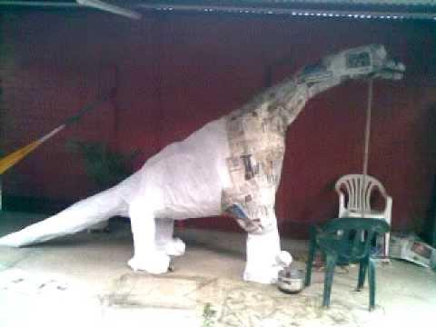 Como Hacer Un Dinosaurio Imagui