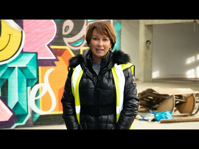 Sonia Murton, Director of Westbury Property Maintenance takes us on a site visit.