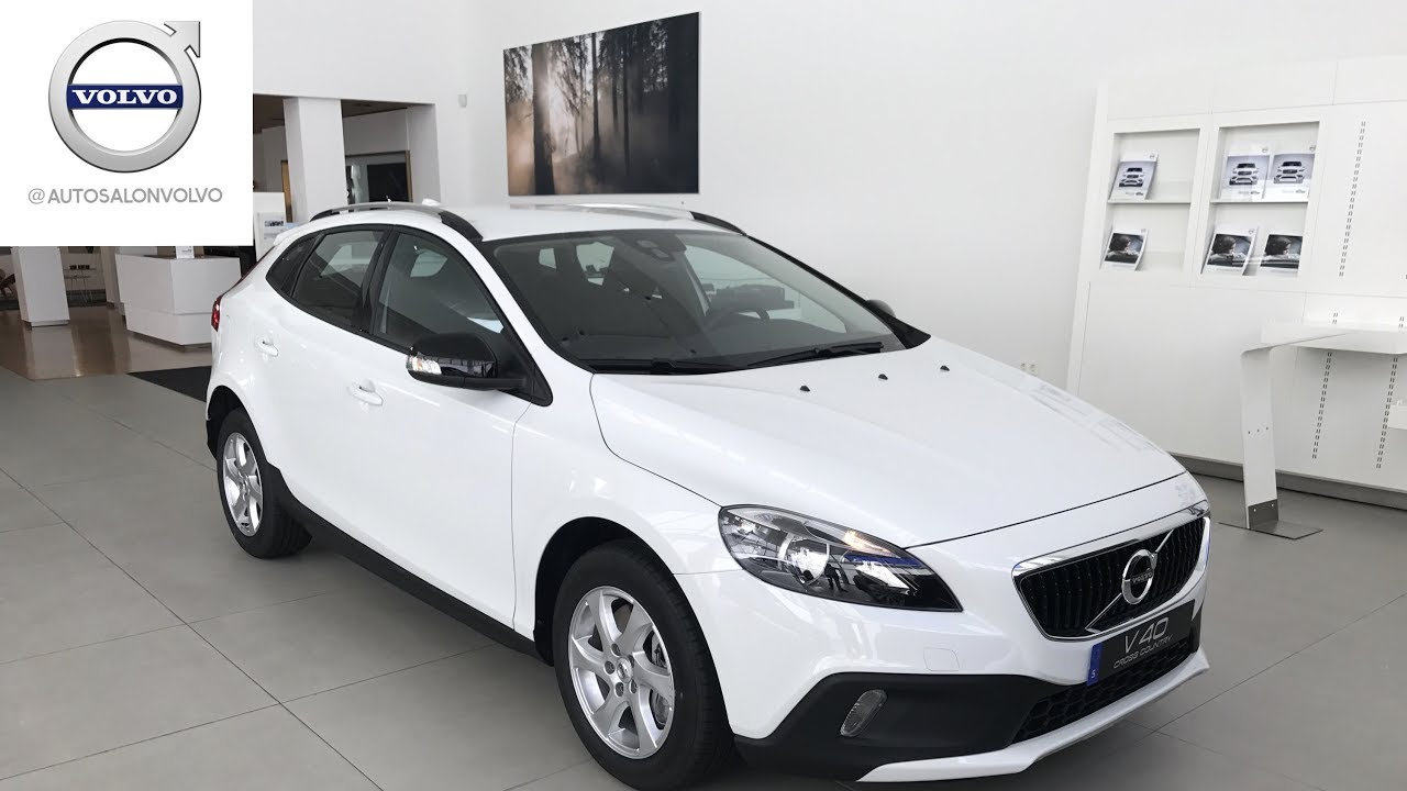 volvo v40 cross country 39 17 d2 kinetic exterior interior youtube. Black Bedroom Furniture Sets. Home Design Ideas