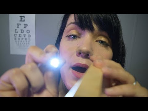 ASMR Head To Toe Physical Exam - Soft Speaking - Crinkles - Face Touching