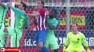 SPORT TV 1 HD - FC Barcelone vs Athletico Madrid - Goals