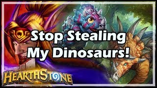 Stop Stealing My Dinosaurs! - Witchwood / Hearthstone
