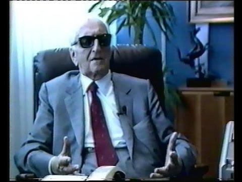 Murray meets Mr Ferrari in 1987
