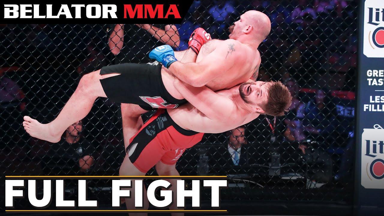 Полный бой: Виталий Минаков и Тим Джонсон - Bellator 225