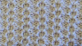 Рельефный узор Вязание спицами Видеоурок 59