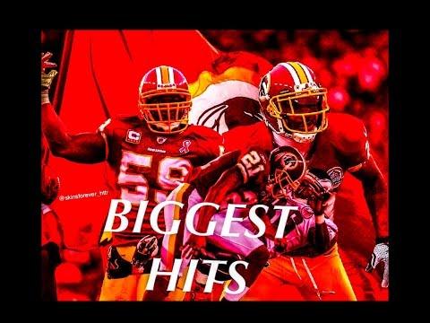 Redskins Big Hits & Fights
