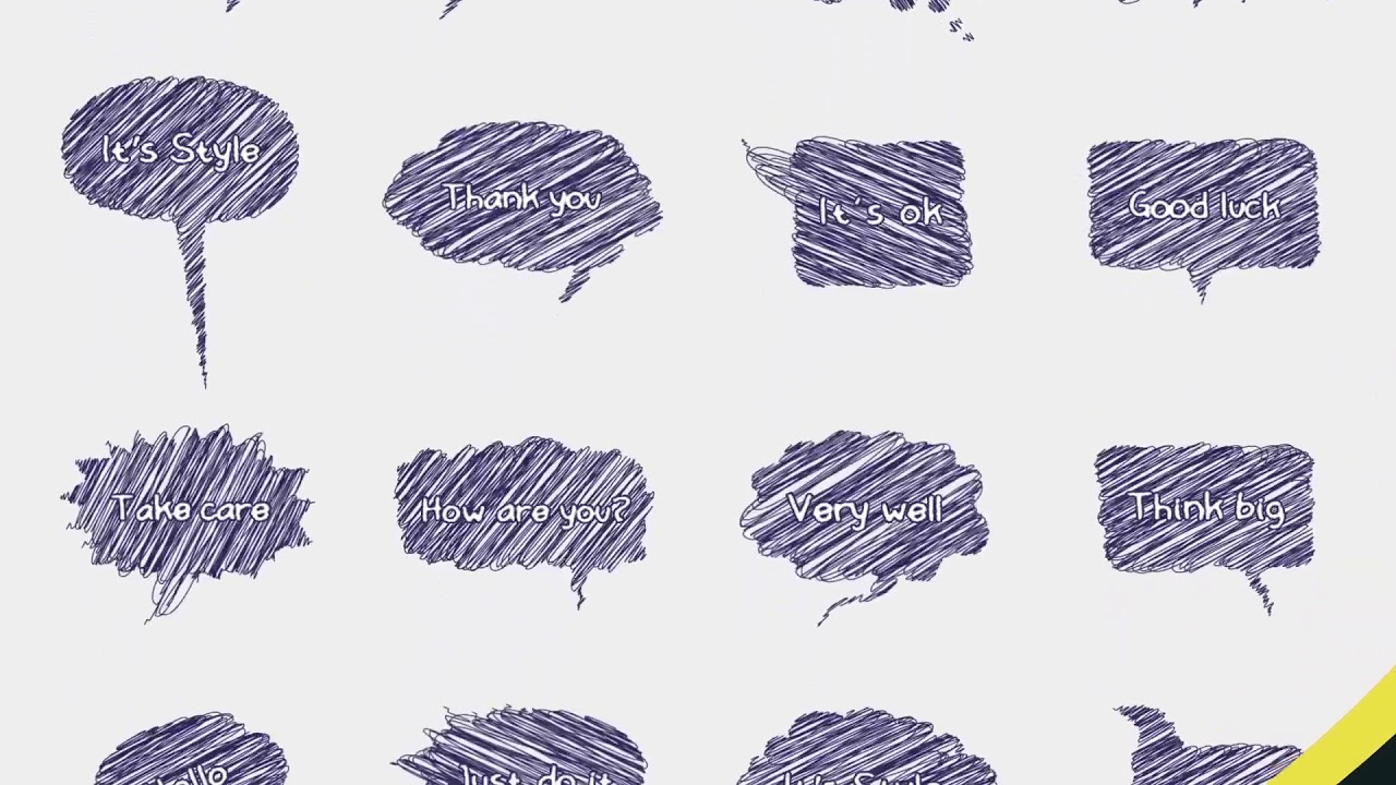 500 Hand Drawn Callouts Pack - After Effects Template