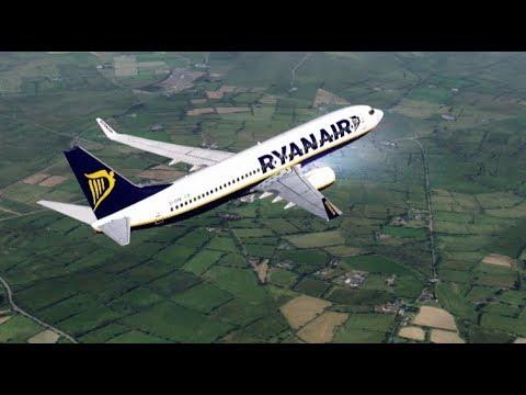 London Stansted to Berlin Schönefeld - Boeing 737-800 Ryanair