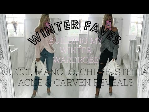 BUILDING MY WINTER WARDROBES | WINTER FAVES | WINTER COATS & A GUCCI BAG REVEAL | IAM CHOUQUETTE