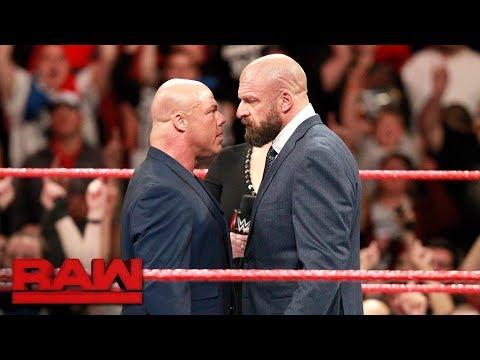 Kurt Angle threatens to retaliate against Triple H: Raw, Nov. 20, 2017