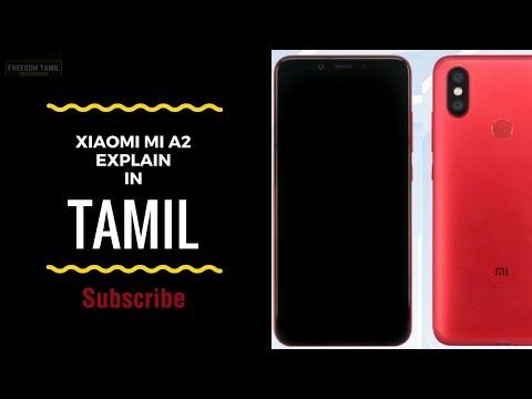 Xiaomi mi A2 specification in tamil-on...