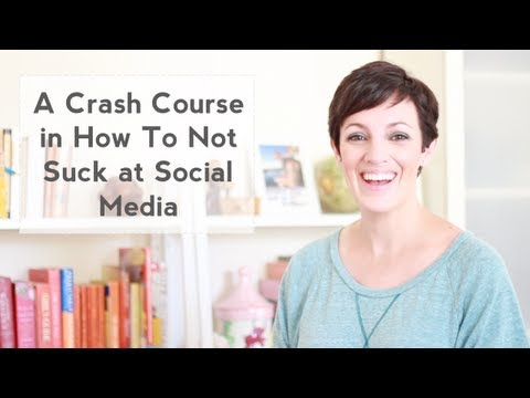 A Crash Course in How To Not Suck at Social Media