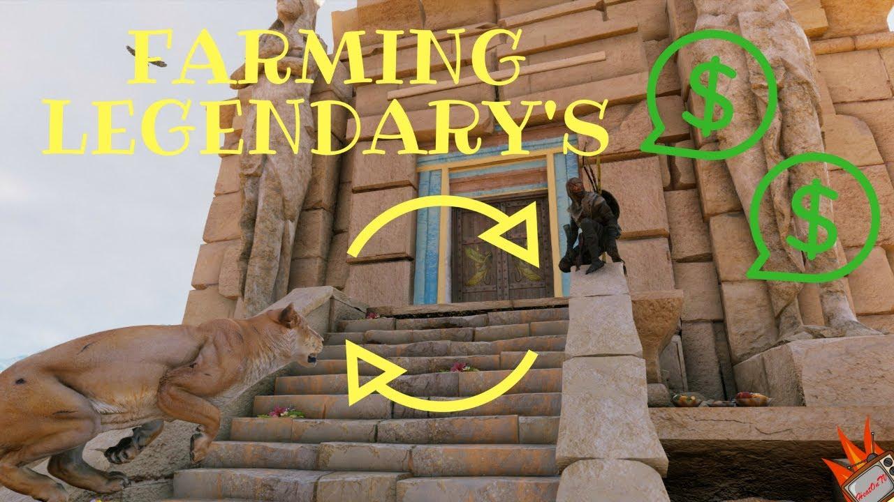 Infinite Farming Items Method In Assassins Creed Origins
