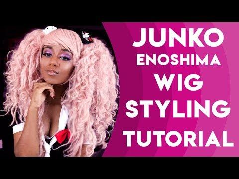 COSPLAY TUTORIAL - Junko Enoshima Wig