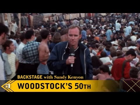 Backstage with Sandy Kenyon: 50th Anniversary of Woodstock Music Festival Mp3