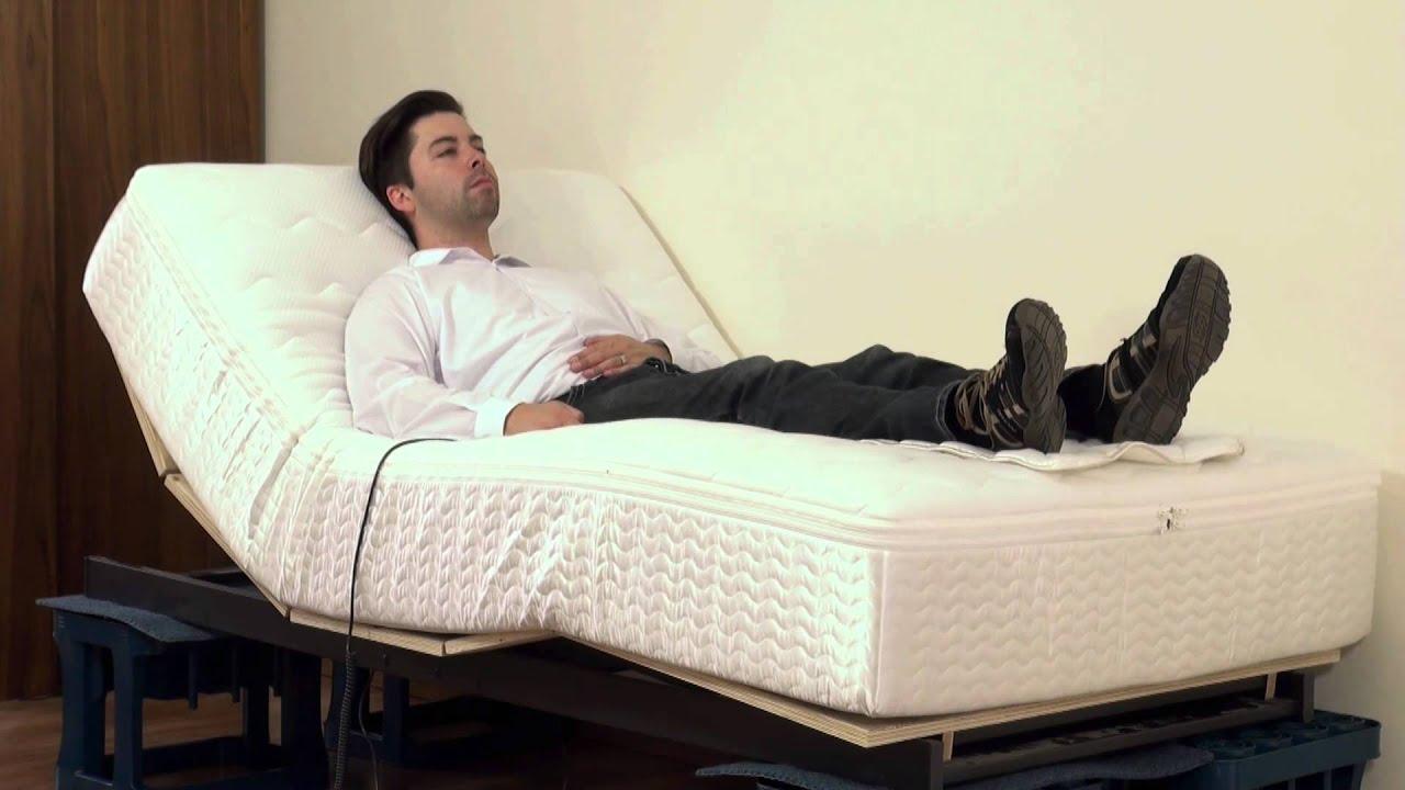 boxspringbett mit motor youtube. Black Bedroom Furniture Sets. Home Design Ideas
