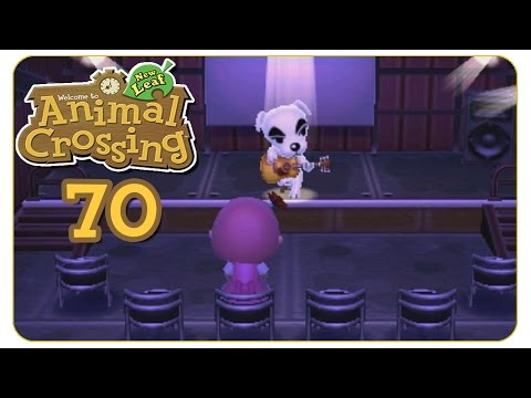 Konzert mit KK! #70 Animal Crossing: New Leaf - Let's Play