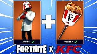 Fortnite KFC Skin - Is The KFC Skin Coming To Fortnite Battle Royale? (Fortnite x KFC Bundle)