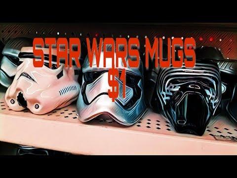 Star Wars mugs found at the Dollar tree *Insane*