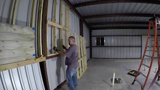 2x4 Wall Framing and Questions on Interior wall treatment