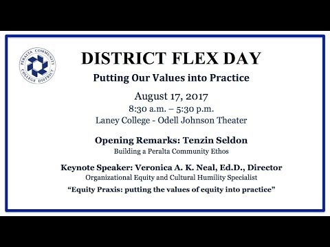 PCCD Fall 2017 Flex Day