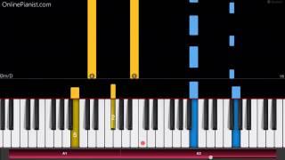 Halloween Theme - EASY Piano Tutorial - How to play John Carpenter's Halloween on piano