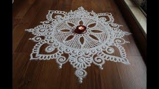 creative and simple rangoli designs by Shital Daga