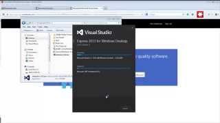 Download & Install Microsoft Visual Studio Express 2013 for Desktop