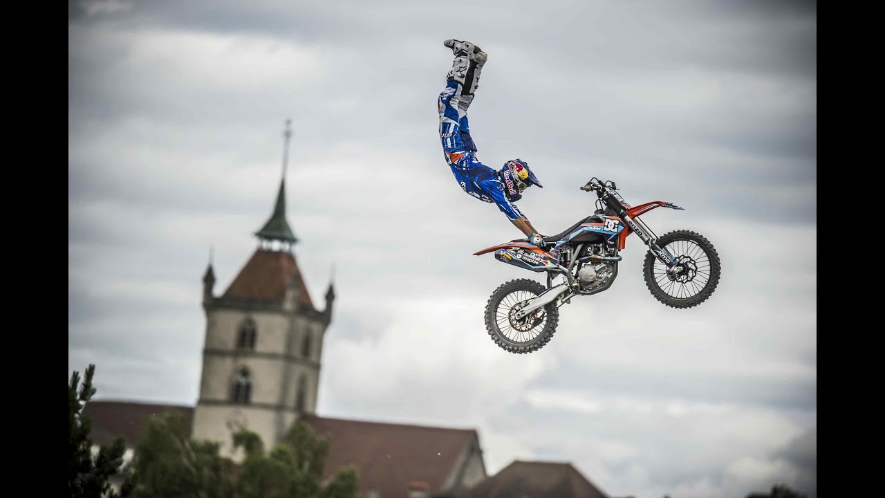 Freestyle motocross competition in Switzerland - Swatch ...