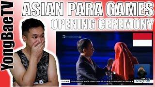 FULL! Aksi Presiden Jokowi di Pembukaan Asian Para Games 2018 Bikin Nangis! | Filipino Reaction
