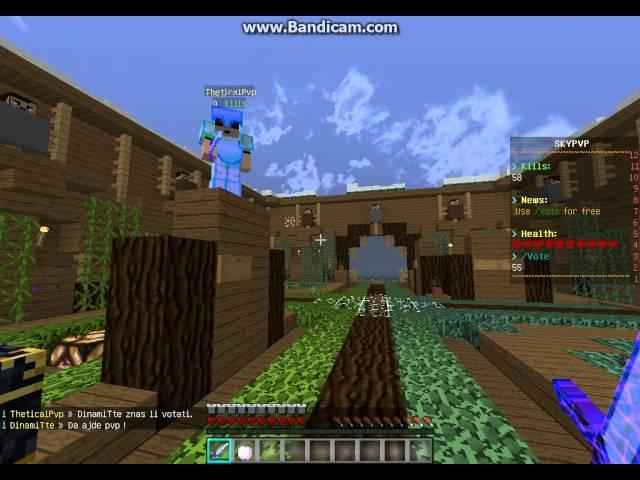 Minecraft Zvjer Craft Skypvp : Haker !