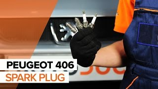 How to replace Sway bar bushes on PEUGEOT 406 Break (8E/F) - video tutorial