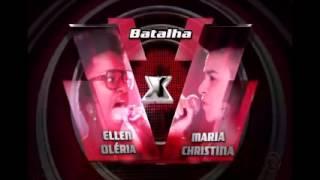 Ellen Oléria e Maria Christina - Canto das Três Raças (The Voice Brasil)
