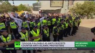 Anti-Islam vs anti-Racism: Hundreds rally across Australia, rallies turn violent