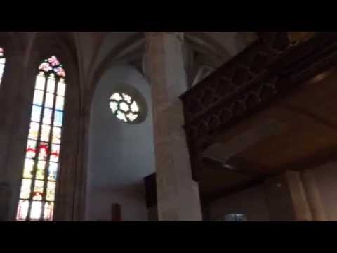 Organ performance at St  Martin's Cathedral, Bratislava