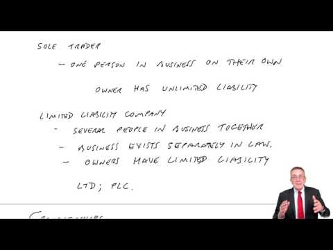ACCA F3 Chapter 1 Introduction to Financial Accounting