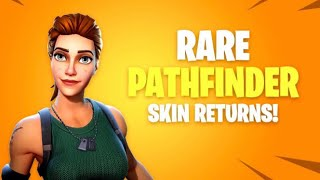 Fortnite | Insanely Rare Fortnite Skin Back In Shop! Pathfinder