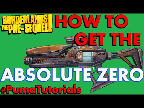 Borderlands: The Pre-Sequel! Legendary Weapons Guide - Absolute Zero Laser #PumaTutorials
