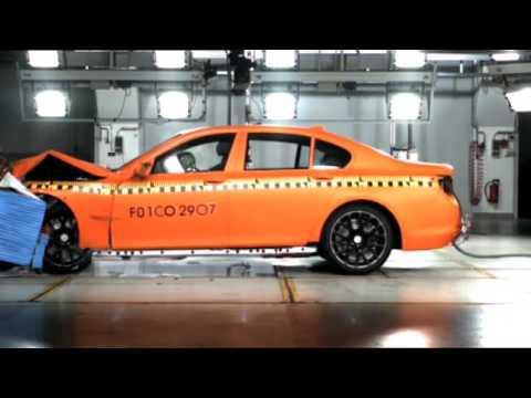 BMW 7 Series F01 Сrash Test