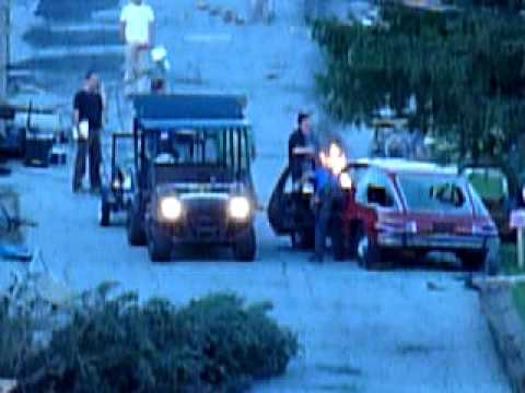 """Super 8"" Filming: Production Sets Car Fire"