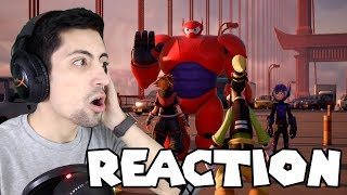 Kingdom Hearts 3 Big Hero 6 Trailer REACTION!