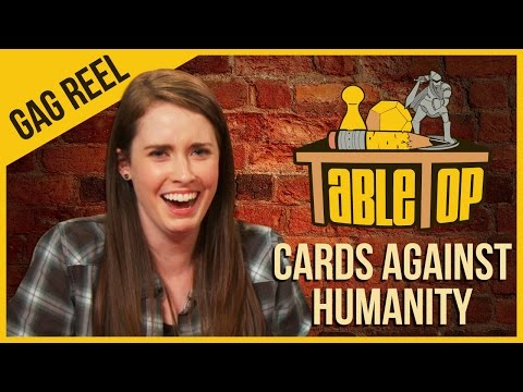 Cards Against Humanity  Gag Reel  TableTop Season 3 Ep. 10 NSFW